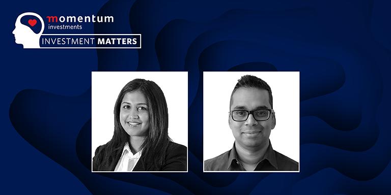 Kamini Naidoo, alternative Investments portfolio manager and Sudesh Moodley, head of asset management at Eris Property Group