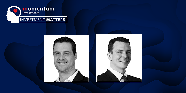 Eugene Botha, deputy chief investments officer and James Klempster director of investment management, Momentum Global Investments